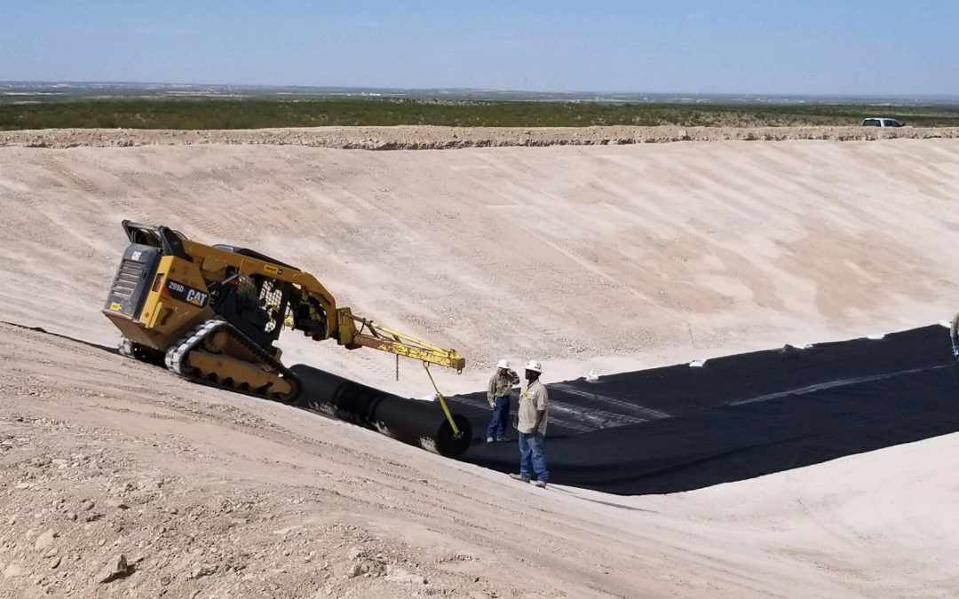 500,000 BBL FRAC POND – ORLA, TX